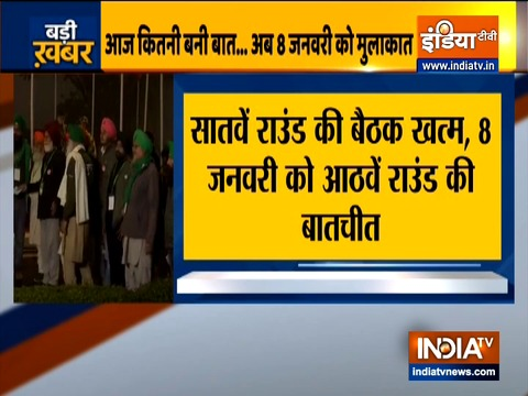 No headway in talks between farmers and govt, next round on Jan 8