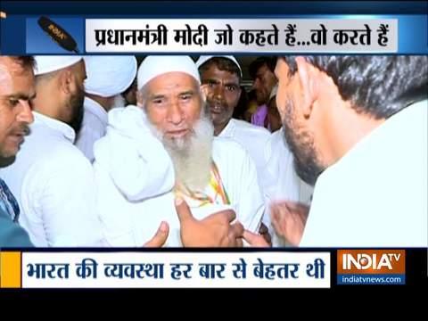 हज यात्रियों का पहला जत्था दिल्ली लौटा, हज के दौरान सुविधाएं प्रदान करने के लिए पीएम मोदी की प्रशंसा की