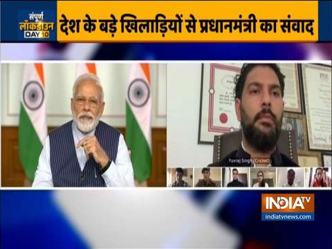 Coronavirus pandemic: PM modi holds meeting 40 top sportspersons via video conferencing today