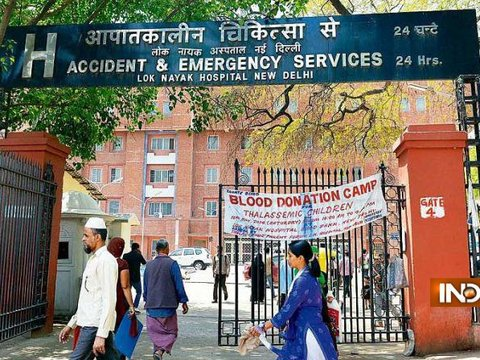 Prisoner escapes from Delhi's Lok Nayak Jai Prakash Narayan Hospital