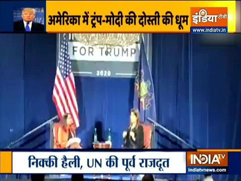 Modi - Trump friendship has strengthened India's relationship with US: Nikki Haley