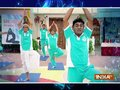 Tarak Mehta Ka Ooltah Chashma team celebrates Yoga Day in Gokuldham Society