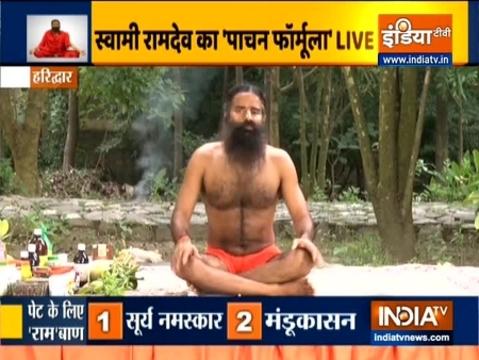 प्राणायाम करने से भी पेट की समस्या होगी दूर, स्वामी रामदेव से जानिए अन्य फायदे