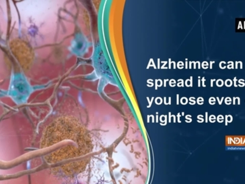 Alzheimer can spread it roots if you lose even one night's sleep