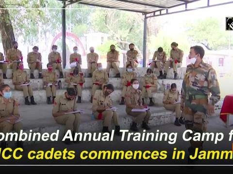 Combined Annual Training Camp for NCC cadets commences in Jammu