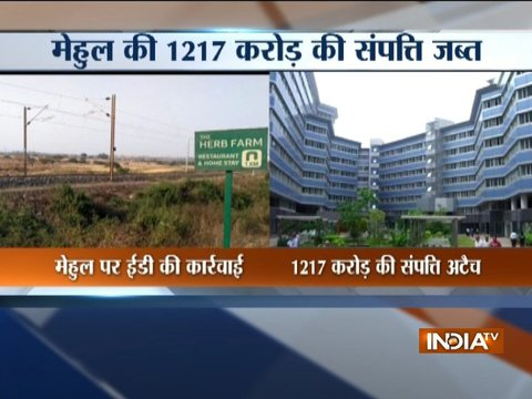 PNB scam: Enforcement Directorate attaches Rs 1,217 crore assets of Mehul Choksi group