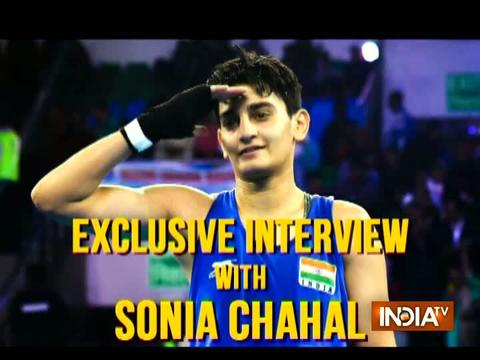 Young Sonia Chahal settles for silver in the finals