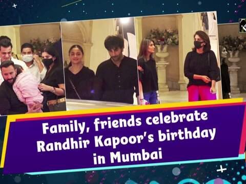 Family, friends celebrate Randhir Kapoor's birthday in Mumbai