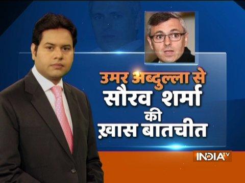 India TV- Lokmat Conclave: उमर अब्दुल्ला से सौरव शर्मा की खास बातचीत