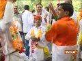 Congress supporters celebrate Rahul Gandhi's 48th birthday