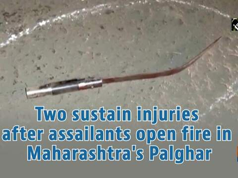 Two sustain injuries after assailants open fire in Maharashtra's Palghar