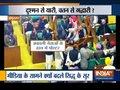Protest in Punjab Vidhan Sabha against Navjot Singh Sidhu's statement over Pulwama attack