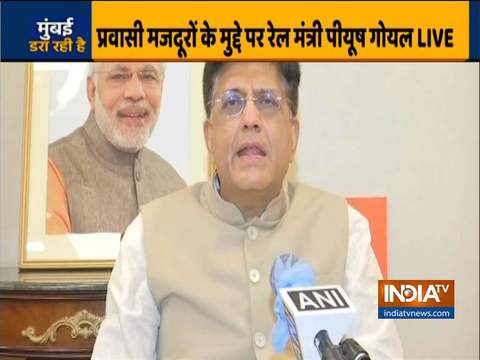 Politicizing migrants issue is unfortunate, we need to work together: Railway Minister Piyush Goyal