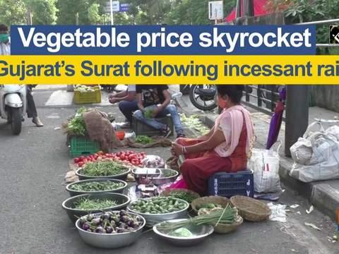 Vegetable price skyrocket in Gujarat's Surat following incessant rains