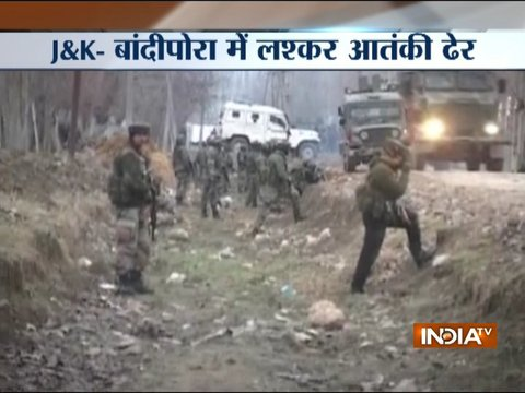 Lashkar terrorist gunned down in Jammu and Kashmir's Bandipora