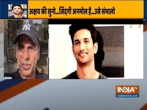 Sushant Singh Rajput death: Akshay Kumar stresses on importance of mental health
