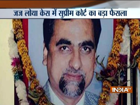 SC dismisses petitions seeking SIT probe into Special CBI Judge BH Loya's death