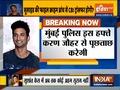 Karan Johar summoned by Mumbai Police in Sushant Singh Rajput death case
