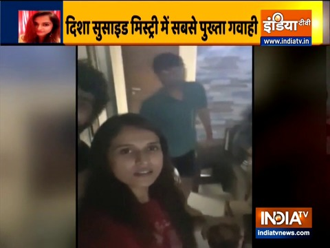 Sushant Singh Rajput's ex-manager Disha Salian's last video before death