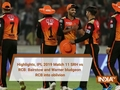 Highlights, IPL 2019 Match 11 SRH vs RCB: Bairstow and Warner bludgeon RCB into oblivion