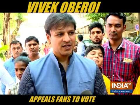 Maharashtra Assembly Elections 2019: विवेक ओबेरॉय ने फैंस से की वोट करने की अपील