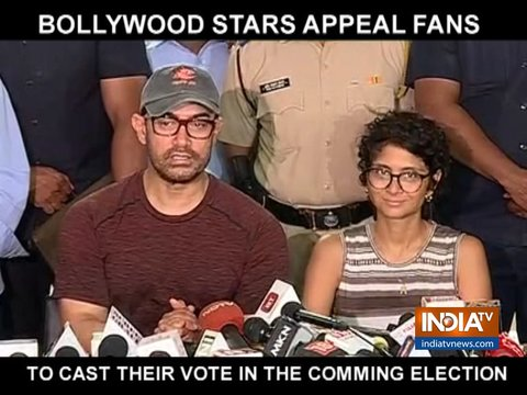 Aamir Khan, Vidya Balan and other celebs appeal fans to vote