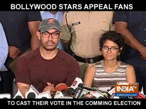 आमिर खान, विद्या बालन समेत इन सितारों ने फैंस वोट करने की अपील की