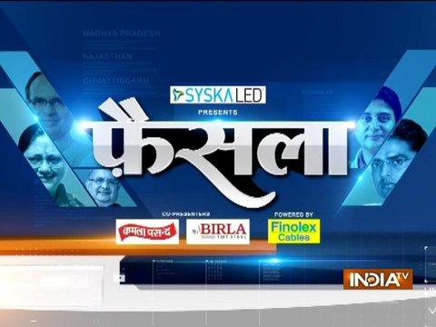 इंडिया टीवी चुनाव विशेष: भोपाल में बाबूलाल गौर का पार्टी कार्यकर्ताओं ने किया विरोध