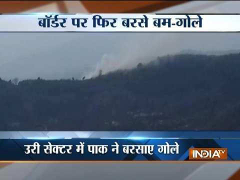 Pakistan violates ceasefire in J&K's Uri sector
