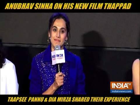 तापसी पन्नू और दिया मिर्जा ने शेयर किया 'थप्पड़' का अनुभव