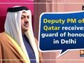 Deputy PM of Qatar receives guard of honour in Delhi