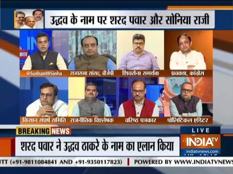 कुरुक्षेत्र: महाराष्ट्र में एनसीपी-कांग्रेस के साथ गठबंधन बनाने के लिए शिवसेना ने किस तरह की कोशिश की