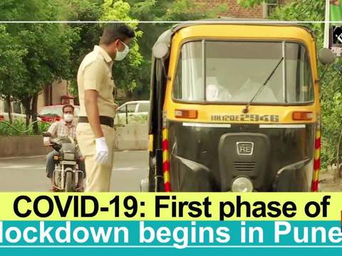 COVID-19: First phase of lockdown begins in Pune