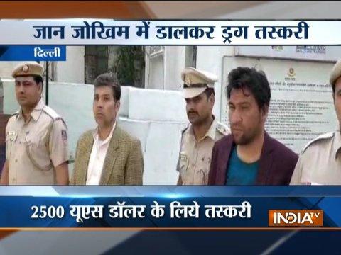 Drugs worth 1 crore seized in Delhi, 2 arrested