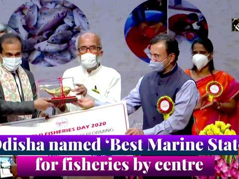 Odisha named 'Best Marine State' for fisheries by centre