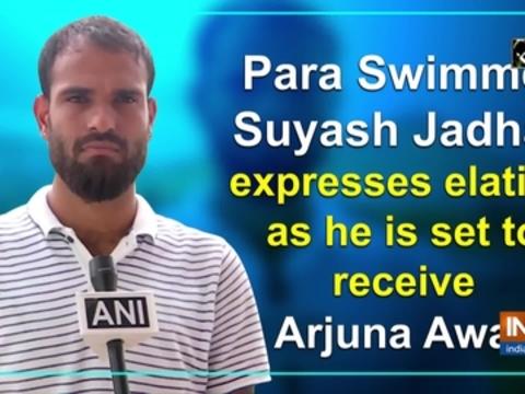 Para Swimmer Suyash Jadhav expresses elation as he is set to receive Arjuna Award