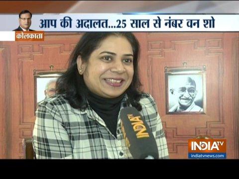 कोलकाता: देश के सबसे पॉपुलर शो 'आप की अदालत' के कटघरे में बैठने का मौका