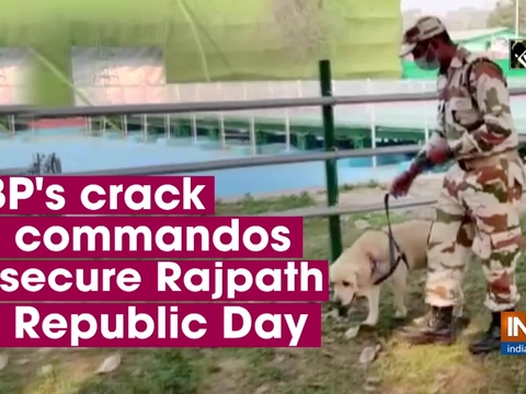 ITBP's crack K9 commandos to secure Rajpath on Republic Day