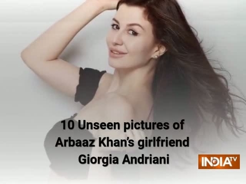 10 Unseen pictures of Arbaaz Khan's girlfriend Giorgia Andriani