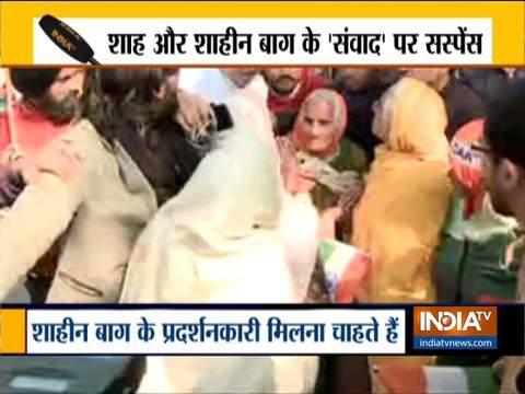 दिल्ली पुलिस ने शाहीन बाग प्रदर्शनकारियों को अमित शाह के आवास तक मार्च करने से रोका