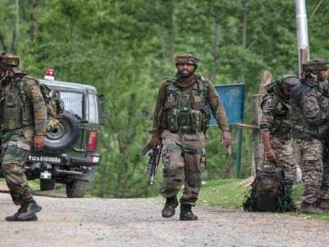 Encounter underway between security forces, terrorists in J&K's Pulwama