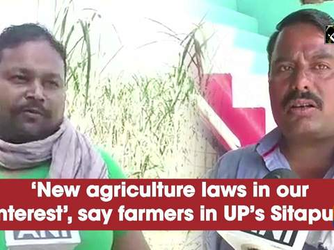 'New agriculture laws in our interest', say farmers in UP's Sitapur