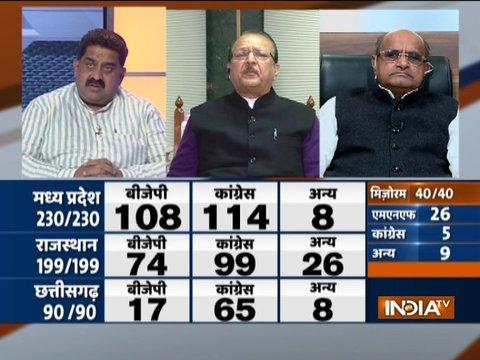 Assembly Election Results 2018: कांग्रेस ने बीजेपी से छीने 3 राज्य