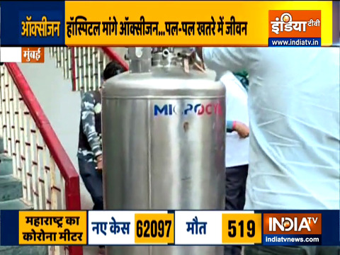 How shortage of oxygen supply effecting hospitals in Delhi and Maharashtra