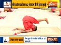 Yoga poses by Swami Ramdev for overall develoment of children