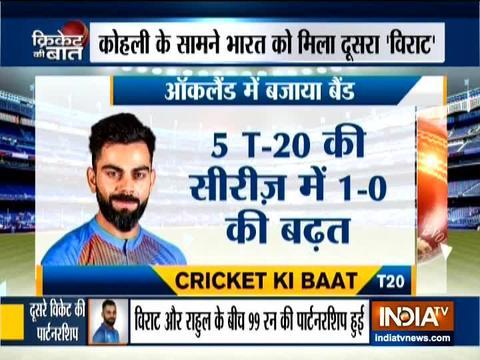 श्रेयस अय्यर और केएल राहुल के अर्द्धशतक से पहले टी-20 में भारत ने न्यूजीलैंड को 6 विकेट से हराया