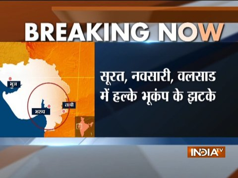 3.7 magnitude earthquake hits South Gujarat