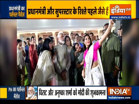 PM मोदी ने जन्मदिन की शुभकामनाओं के लिए बॉलीवुड सितारों को धन्यवाद कहा