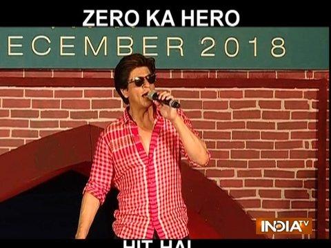 Zero trailer launch: I no longer own my birthday as it belongs to all my fans, says Shah Rukh Khan