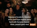 Rumoured lovebirds Malaika Arora and Arjun Kapoor party hard with Kareena Kapoor Khan, picture goes viral